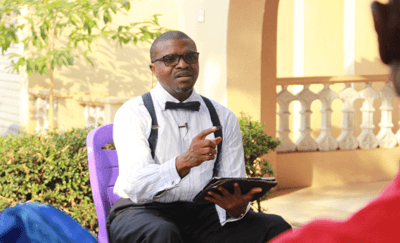 Reverend Olusegun Obafemi in counselling-session